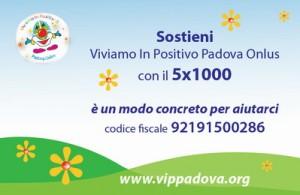 5xmille VIP Padova - fronte